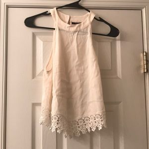 Forever 21 High Neck Tank Top